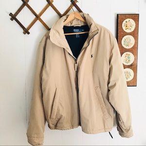 Polo Ralph Lauren Hooded Lined Bomber Jacket
